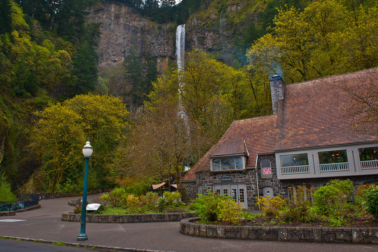 Multnomah falls is one of the most photographed falls in America, and comes with a great visitor center and resturant.