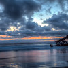 Pacific Graveyard Sunset
