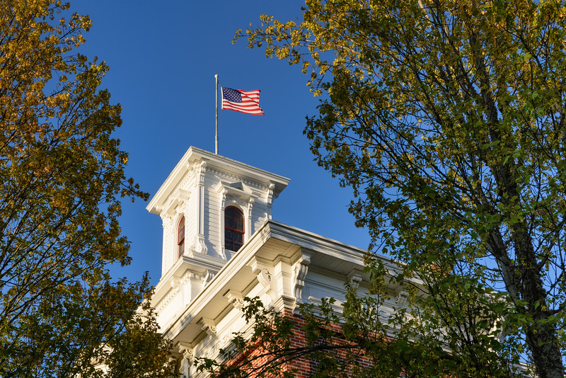 The old Jackson County Courthouse in Jacksonville, Oregon.<br /> © 2013 Jim Craven, All rights reserved.
