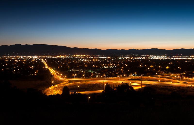 Medford, Oregon. Looking west down McAndrews Boulevard.<br /> © 2011 Jim Craven, All rights reserved.
