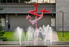 Mayors Plaza Fountain in Medford<br /> © 2011 Jim Craven, All rights reserved.