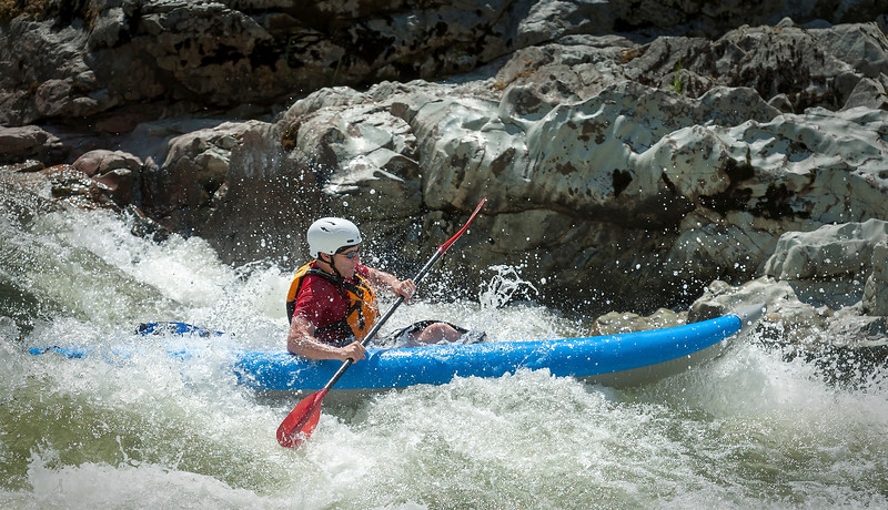 Rafting the Wild and Scenic Rogue River.