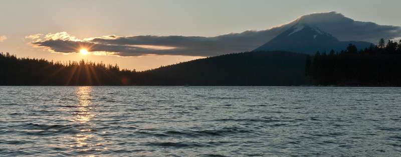 Lake of the Woods and Mt. McLoughlin at sunset.<br /> © 2011 Jim Craven, All rights reserved.