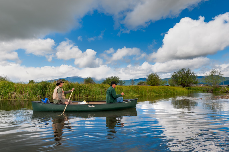 Canoeing on the Wood River<br /> <br /> © 2012 Jim Craven, All rights reserved.
