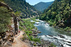 Hiking. Wild and Scenic Rogue River.
