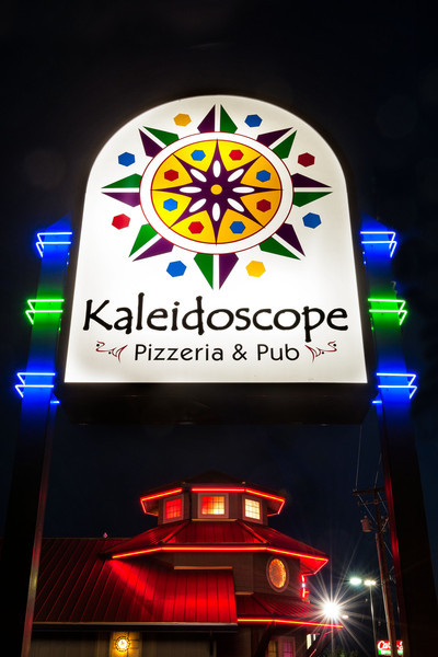 Kaleidoscope Pizza<br /> © 2012 Jim Craven, All rights reserved.