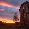 Fuel Bunker at Sunrise