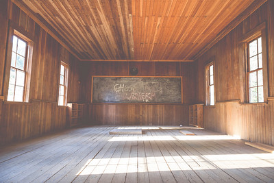 Golden Schoolhouse Interior