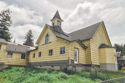 Abandoned Cloverdale Church