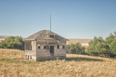 Old Pilot Rock Schoolhouse