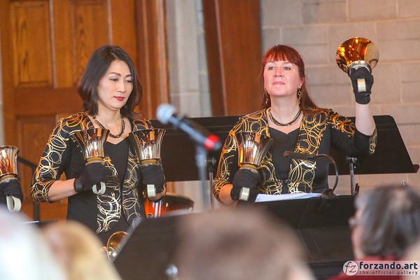 The Agape Ringers in Concert in Clarendon Hills, Illinois
