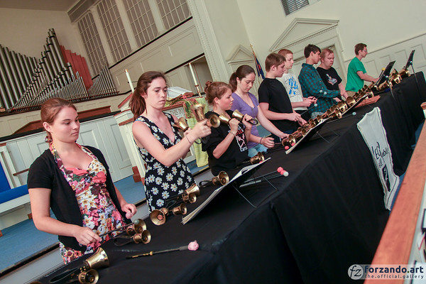 Allegro Handbell Ensemble Performs in Cedar Rapids