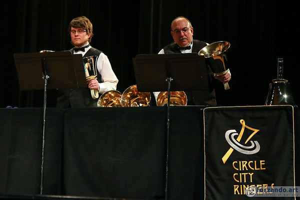 Circle City Ringers Perform at the Handbell HMA Area 5 2019 Spring Festival Conference