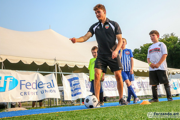 Flint City Bucks Host a Kids' Soccer Workout