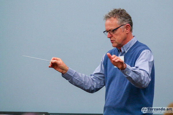 Lee J. Afdahl Conducts at the 2019 HMA Area 5 Spring Festival Conference