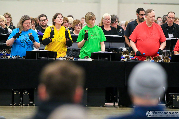 Sinclair Community College Handbell Ensemble at the 2019 HMA Area 5 Spring Festival Conference