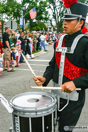 Hinsdale Central High School Marching Band at Memorial Day