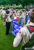 Scouts Retire the Colors