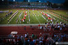 """Director Matthew Kurinsky looks on as his students in the <a href=""""http://hcbands.org"""" target=""""_blank"""">Hinsdale Central High School Marching Band</a><a> performs the fight song for fans at the Hinsdale Central stadium just before the Red Devils kick off against the Morton High School Potters.</a>"""