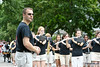 Hinsdale Central High School Marching Band in the Independence Day Parade