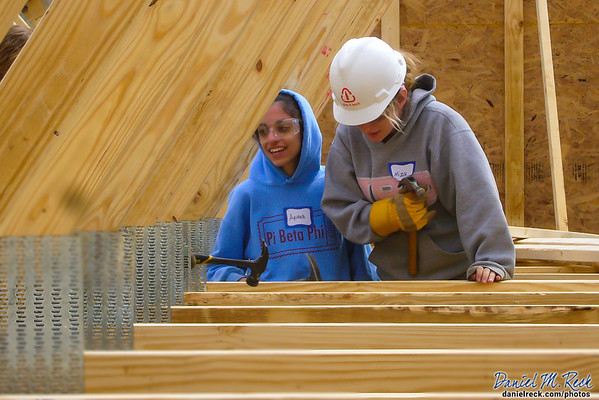 Students Build a Home with Habitat for Humanity