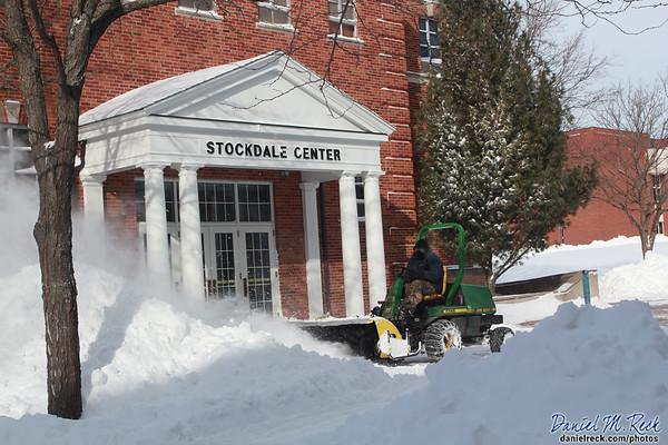 Stockdale Center in the Snow