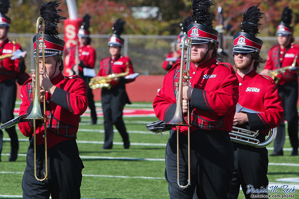 Fighting Scots Marching Band Takes the Field