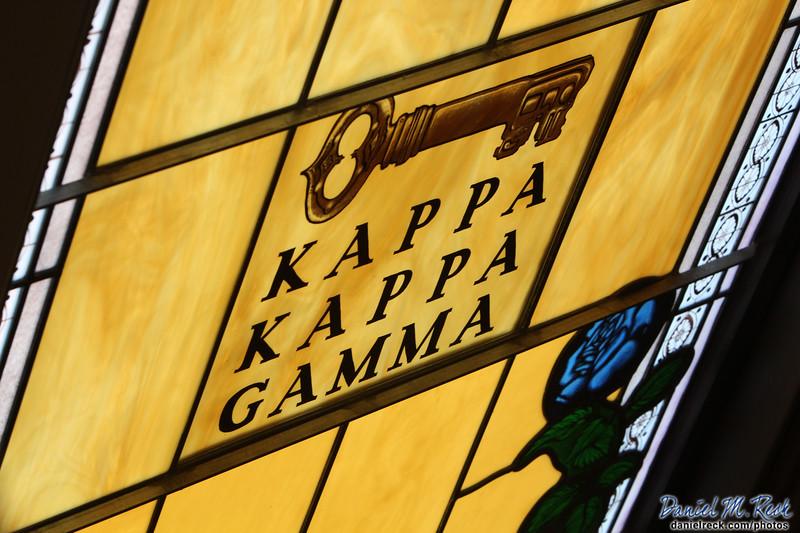 Kappa Kappa Gamma in Glass
