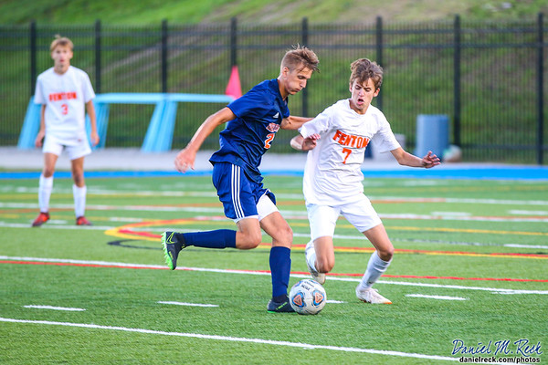Chargers Boys Soccer vs. Fenton at Atwood Stadium