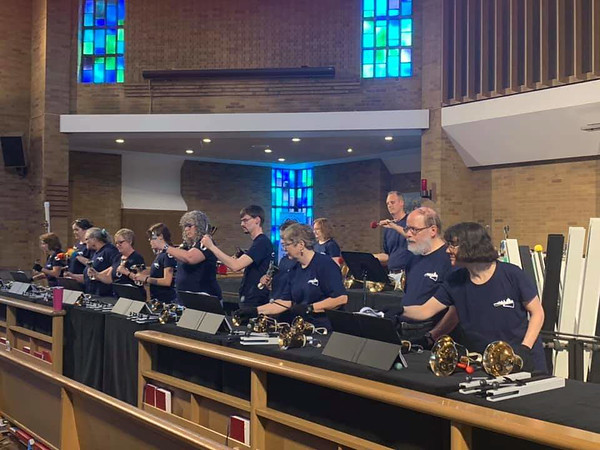Detroit Handbell Ensemble on Tour