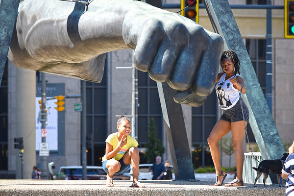 Joe Louis Fist Bump