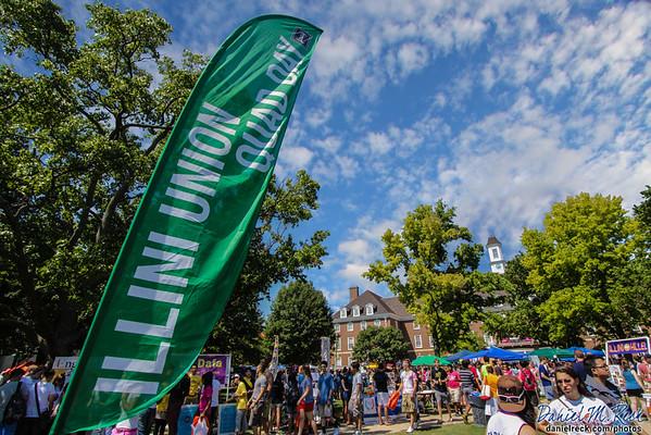 Illini Union Quad Day