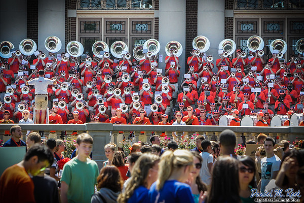 Marching Illini a Hit at Quad Day