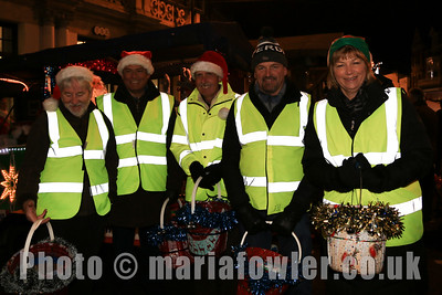 Rudolph & Santa's Sleigh, Rotary Club of Harwich & Dovercourt