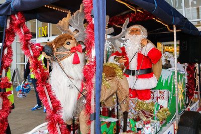 12 Dec 2015 Rotary Rudolph & Santa at Morrisons, Harwich.