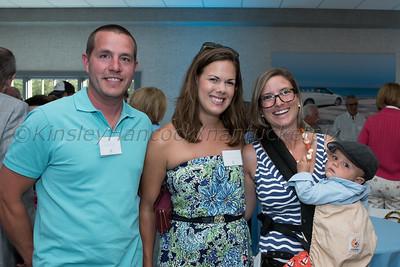 Don Allen Kick Off event for Autism Speaks, Don Allen Ford, Nantucket, July 18, 2015