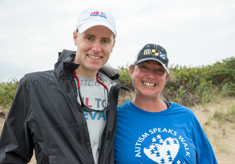 Autism Speaks Walk, Jetties Beach, Nantucket, Massachusetts, August 18, 2018