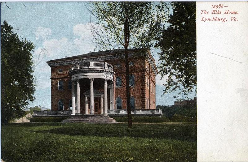 Postcard of the Elks Lodge (05052)