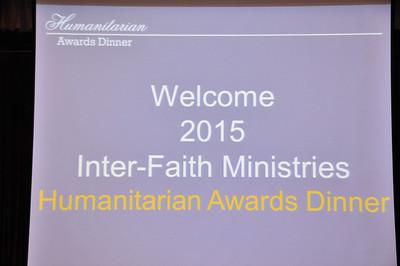 Humanitarian Awards Dinner Aug 20, 2015