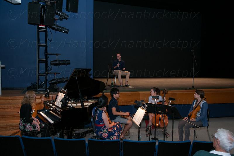 Nantucket Atheneum Dance Festival Demo, Nantucket  High School, Nantucket, MA July 24, 2014