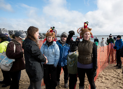 Nantucket Atheneum Turkey Plunge, Thanksgiving Day, Nantucket, MA, November 27, 2014