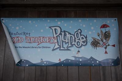 Nantucket Atheneum 15th Annual Turkey Plunge, Children's Beach, Nantucket, MA November 24, 2016