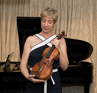 Nantucket Community Music Center meeting of Elizabeth Pitcairn and the Red Mendelssohn Stradivarius and Chamber Music Concert, 56 Centre Street, Nantucket, MA, July 15, 2016