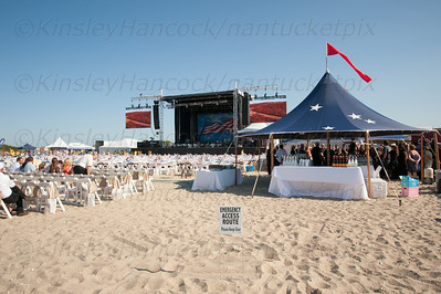 Nantucket Cottage Hospital Boston Pops Concert featuring Arrival from Sweden, Jetties Beach, Nantucket, MA August 9, 2014