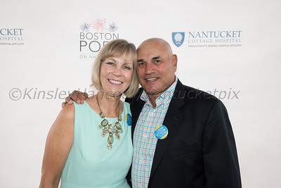 Nantucket Cottage Hospital's 21st Annual fundraiser with the Boston Pops, special guests, The Beach Boys, Jetties Beach, Nantucket, August 12, 2017