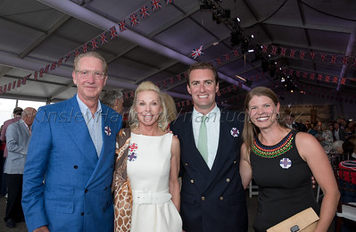 Nantucket Cottage Hospital's 22nd Annual fundraiser with the Boston Pops, special guests, RAIN with music by the Beatles, Jetties Beach, Nantucket, August 11, 2018