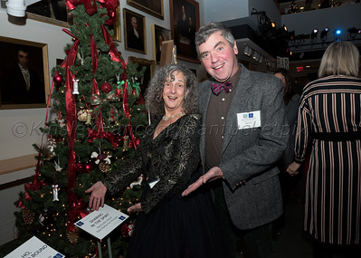 Festival of Trees Opening Night, Whaling Museum, Nantucket Historical Association, Nantucket, Massachusetts, November 30, 2017