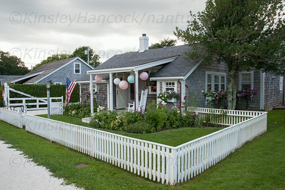 Nantucket Preservation Trust Fête, Pochick St., Magnolia and Ocean Avenues., Siasconset, MA August 7, 2014