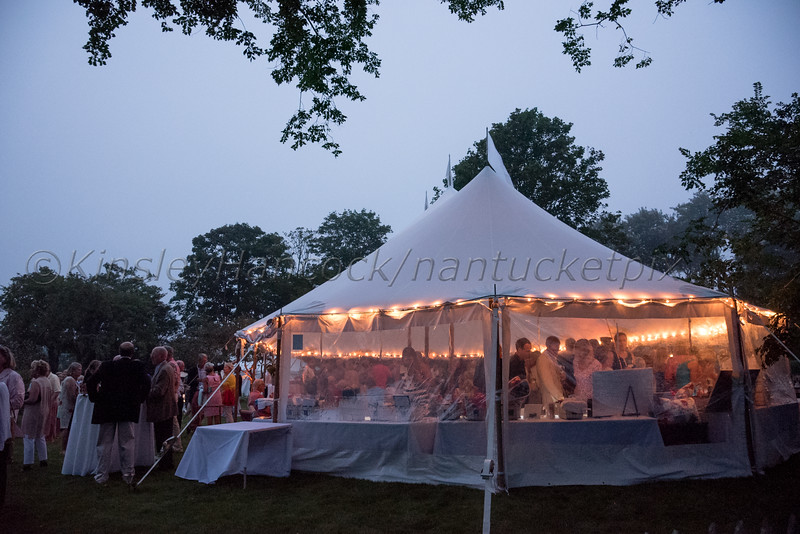 Nantucket Preservation Trust Fête on upper Main Street, Nantucket, MA August 11, 2016