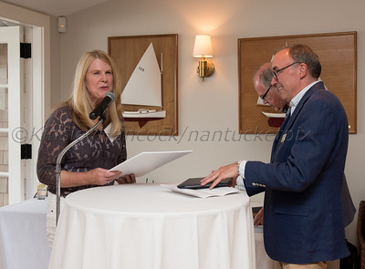 Nantucket Preservation Trust Annual Preservation Awards, Nantucket Yacht Club, Nantucket, MA June 29, 2017